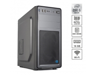 Pc Fisso DILC Business 5 Intel i5-10500 6 Core 3.10 ghz Ram 16 gb Ssd 480 gb WiFi 300 mbps Masterizzatore Alimentatore 80+ Licenza Windows 10 PRO
