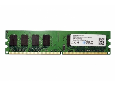 DIMM DILC RAM DDR2 2GB DDR2 PC2-6400 800MHz 200PIN CL6 DILC64002GBD