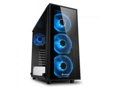 Pc Gaming DILC Zen Start Ryzen 5 3400G 4 Core 3.70 ghz Ram 16 gb 3200 Mhz Ssd 240 gb M.2 Scheda Video integrata RX Vega 11 Case Sharkoon TG4 RGB 500W 80+ Licenza Windows 10 PRO