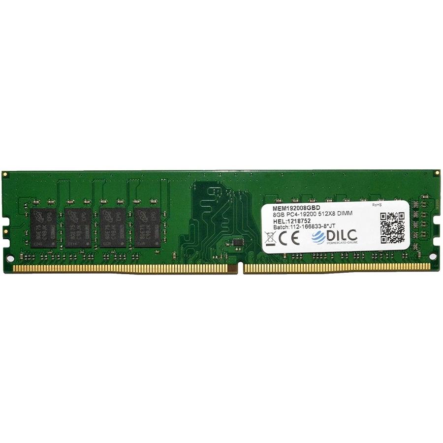 DIMM DILC RAM DDR4 8GB DDR4 PC4-19200 2400MHz Single Rank 512x8 CL17 DILC192008GBD-SR