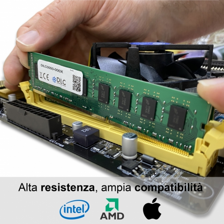DIMM DILC RAM DDR2 2GB DDR2 PC2-6400 800MHz 200PIN CL6 DILC64002GBD