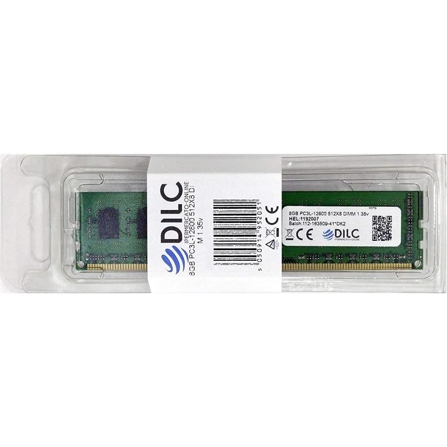DILC Ram Dimm DDR3 16GB (2x8GB) 1600Mhz PC3-12800 (240 Pin) 1.35v (Low Voltage) DILC128002X8GBD-LV