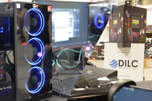 DILC porta il gaming in fiera! La nostra avventura al Romics 2019